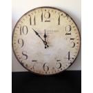 orologio da parete muro vintage antichizzato tipo legno